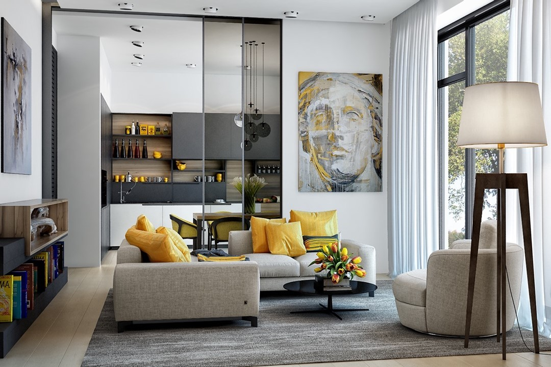 Interior design e colori pantone 2021